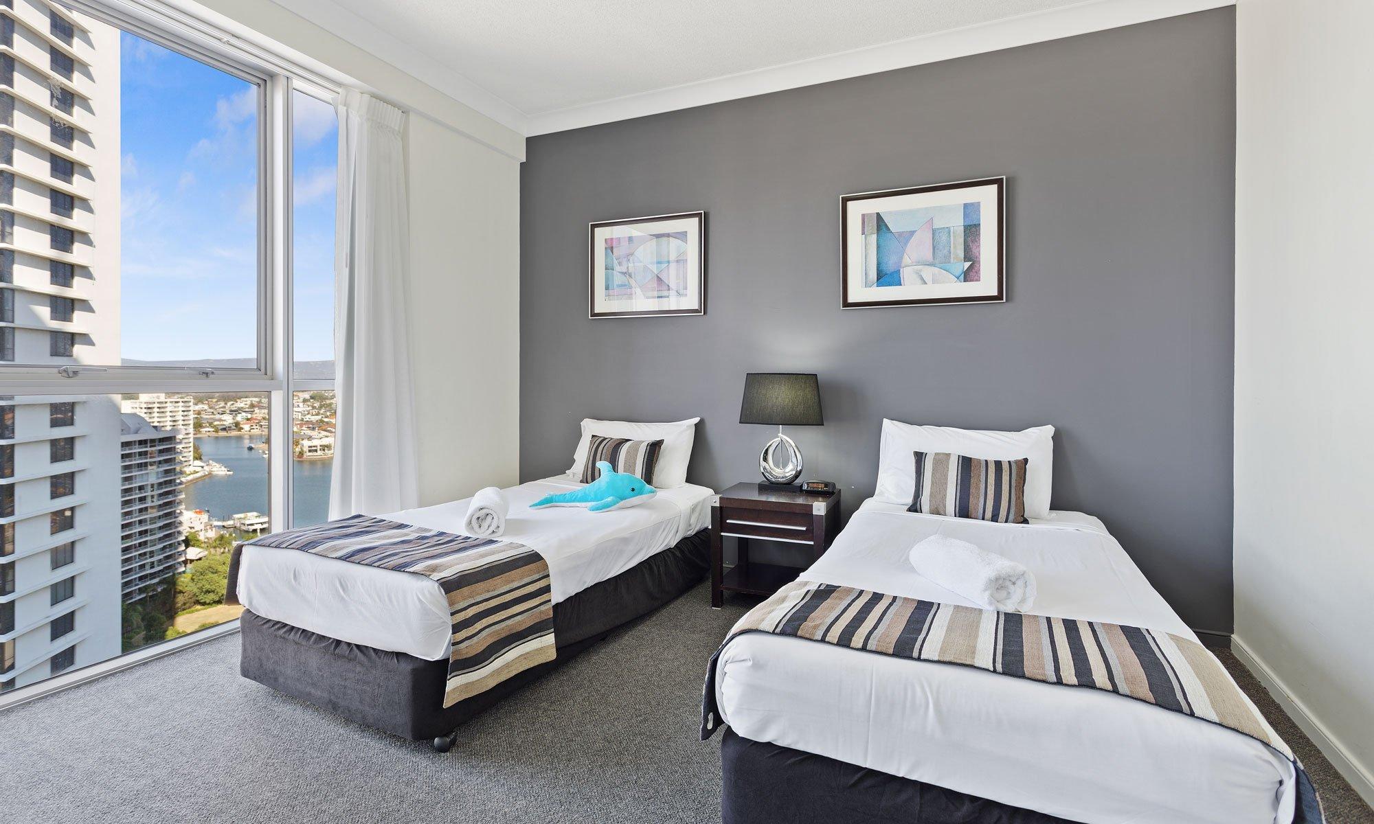 Gold Coast real estate for sale Chevron Renaissance 1171 third bedroom