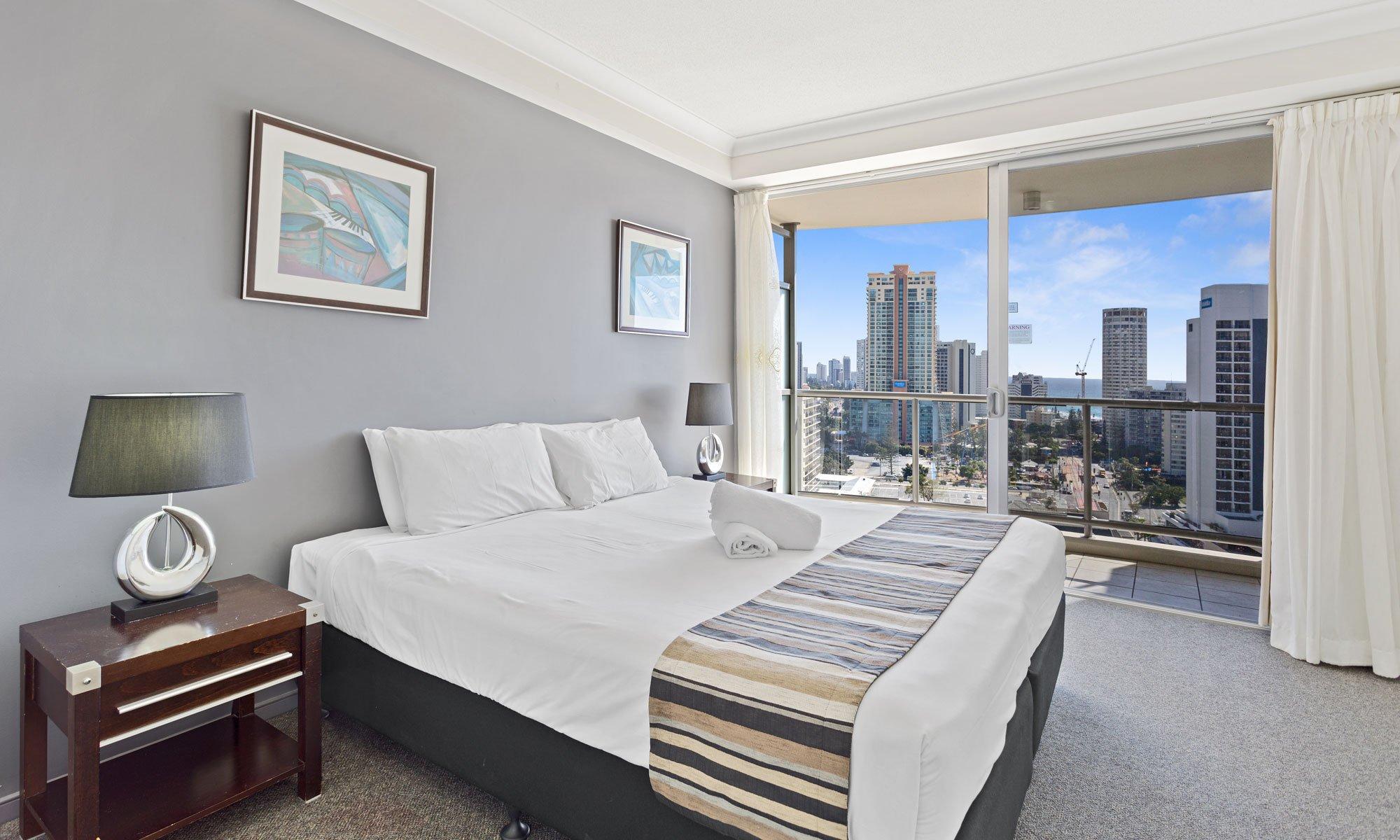 Gold Coast real estate for sale Chevron Renaissance 1171 second bedroom