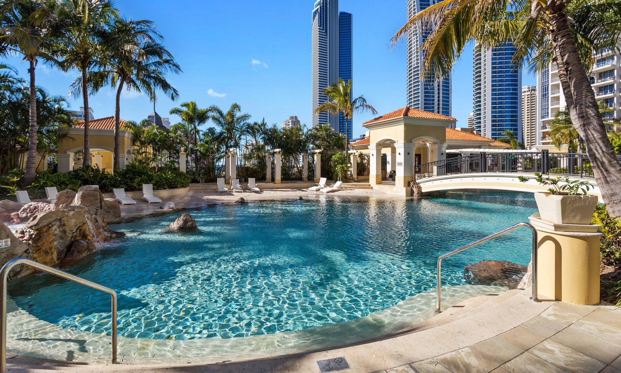 Gold Coast real estate for sale Chevron Renaissance sandy lagoon beach