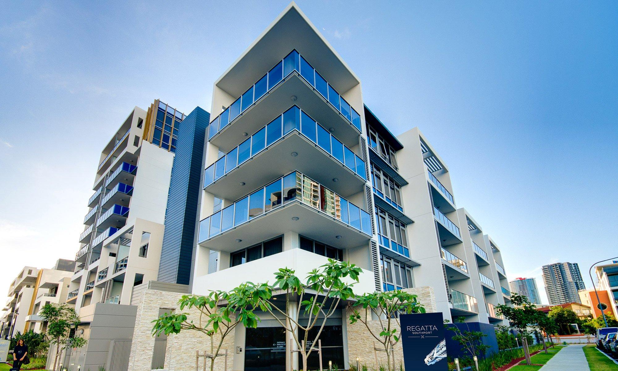 Gold Coast real estate for rent Regatta 617 complex building