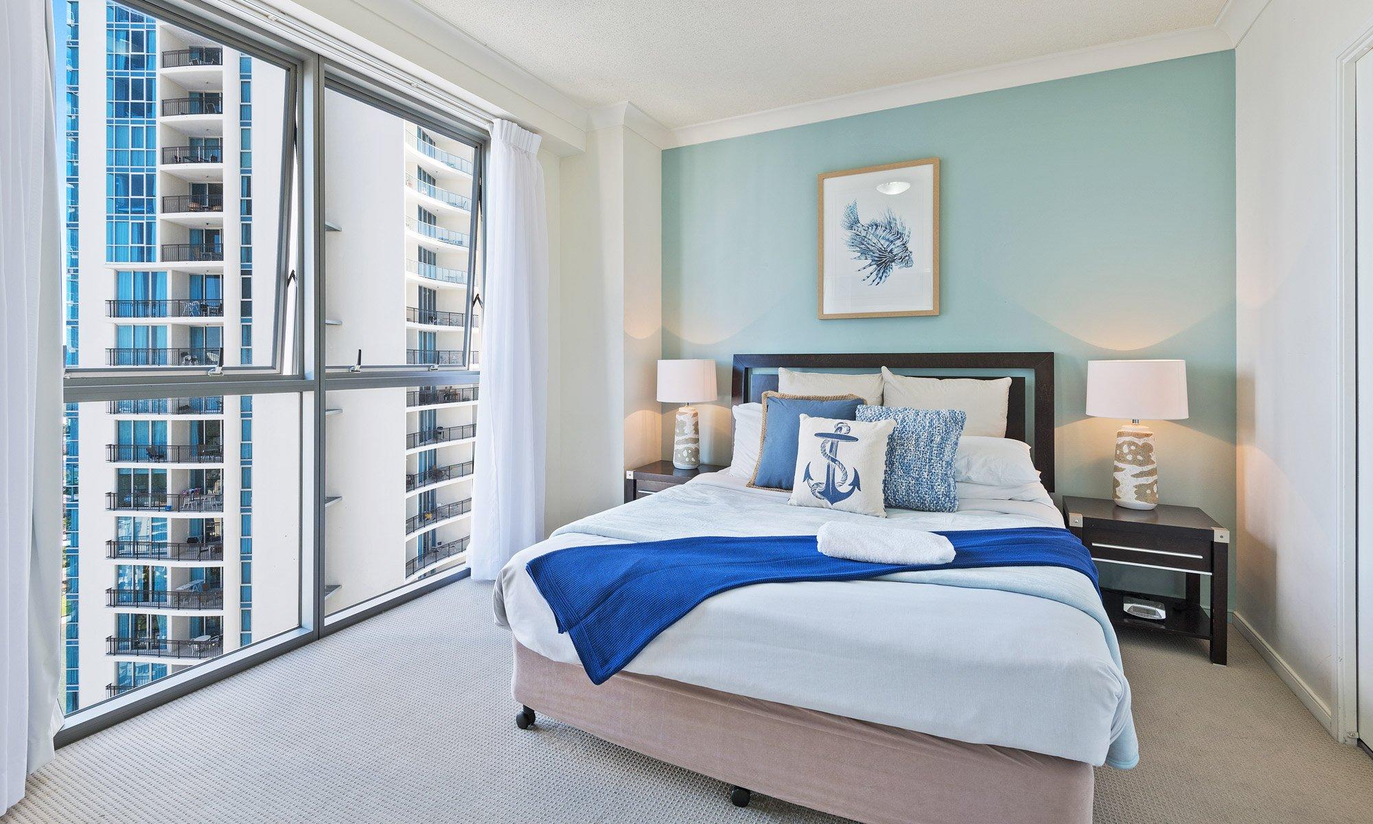 Gold Coast real estate for sale Chevron Renaissance 1264 second bedroom